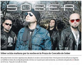 Sober rock Sober