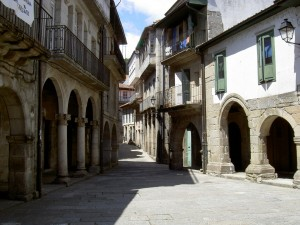 Streets lined with medieval porticos