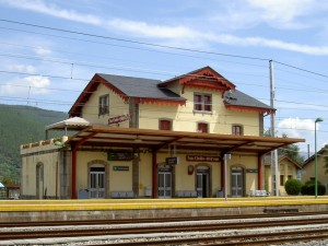 Captured in time - San Clodio railway station