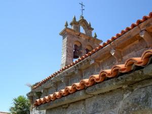 The 13th century church of Pedroso