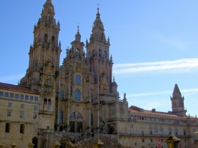 The pilgrims goal - The cathedral in Santiago de Compostela