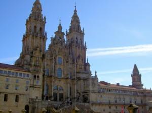 The pilgrims goal - The cathedral in Santiago de Compostela