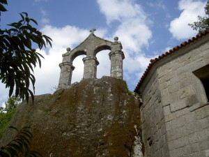 The bell tower at San Pedro de Rocas
