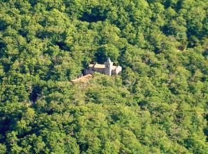 The monastery of Santa Cristina