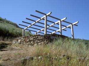 The viewing platform at Os Chancis