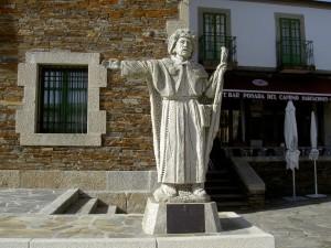 Saint James points the way