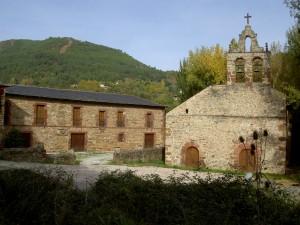Monasterio Xagoaza y la iglesia de San Miguel