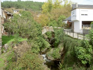The Roman bridge in Entoma