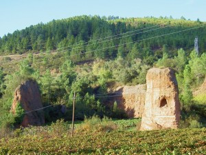 Ancient Roman gold mines