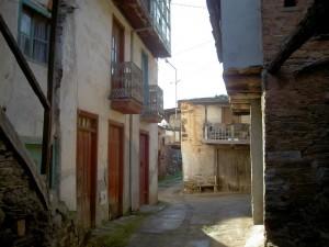 A maze of narrow streets