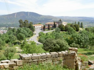 The parador of Verin